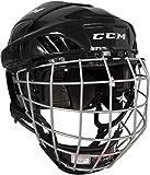 CCM Fitlite 40 Helm Combo Senior, Größe:M;Farbe:schwarz
