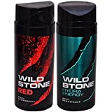 WiLD STONE Red & Hydra Energy (each 150ml) Pack Of 2