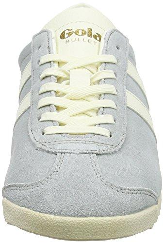 Gola Bullet Suede, Sneaker Basse Donna Grigio (Pale Grey/off White)