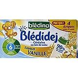 Blédina - Bols blediner légumes du potager et pâtes etoiles dès 12 m ois - Les deux pots de 200g - (pour la quantité...