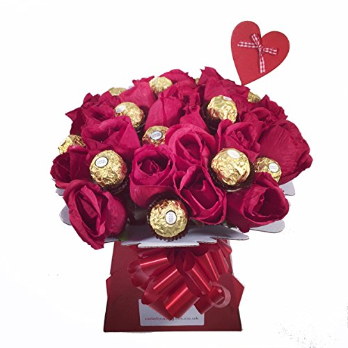 luxury-mothers-day-silk-red-roses-and-ferrero-rocher-chocolate-bouquet