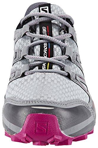 Salomon Speedcross Vario GTX - Chaussures de running - gris 2017 light onix/black/deep dalhia