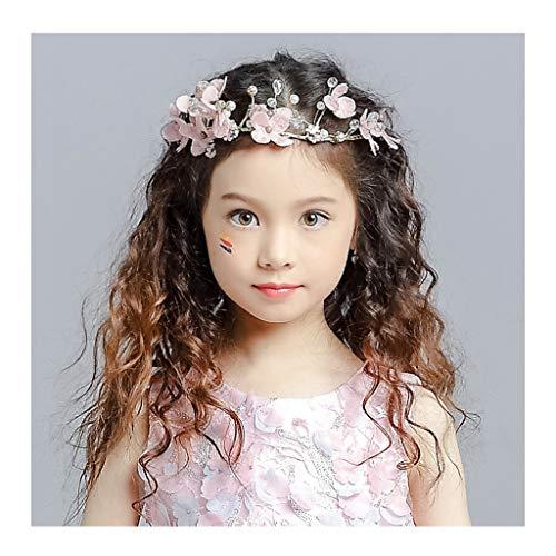 CRR Blumen Kranz handgemachte böhmische koreanische Kopfschmuck Kinder Krone Braut Blumenmädchen Prinzessin Haarschmuck Hochzeitskleid Zubehör