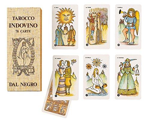 Dal Negro Tarocco Indovino 78 Carte, 043002
