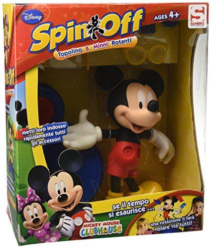 Mickey Mouse Club House Spin-Off mit Micky Maus und Minnie, GAM-151/152, Verschiedene Modelle (Mickey Lunch-boxen)