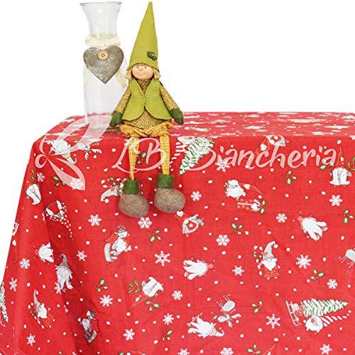 RP r.p. Mantel Navidad Magia Bosque Elfos Duendes–100%