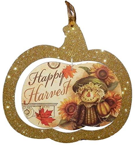 Greenbrier Sparkly Wandschild Zum Aufhängen für Tür Klassenzimmer Herbst/Thanksgiving Tür Dekorationen Mottoparty Decor für Home/Außen Happy Harvest Greenbrier Hotel