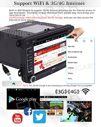 VW Android 6 0 Operation System Car DVD Player in Dash