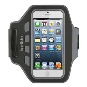 Belkin Easefit Neopren/Polyester-Armband für iPhone 5/5s schwarz