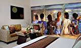 Startonight Fototapete Kunstdruck Sexy Malerei, Wandbild Großformatige Modern Muster Dekorative Kunst Wand 256 x 366 CM