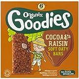 Organix Goodies Cacao Biologique Et Raisins Doux Barres De 6 X 30G Oaty