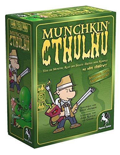 Pegasus Spiele 17189G - Munchkin Cthulhu 1+2