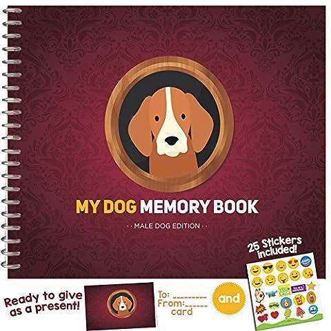 My Pet mémoire livre Male