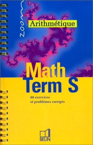 Math terminale S arithmétique
