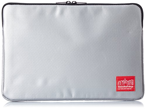 manhattan-portage-laptop-sleeve-sac-ordinateur-mixte-adulte-41x28x3-cm-argent-synthetique