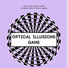 Optical Illusions Game: Find a set of four cards to create your optical illusion