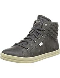 Esprit, 016EK1W032, Desire Bootie, Damen hohe Sneaker, weiß (100) (38, weiß) Esprit