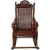 Crafts A To Z Grandpa Rocking Chair (Brown, 43 X 24 X 37 Inch)