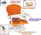 #7: CAM SMARTY BABY Booster Seat C30(ARANCIO) -With Removable Cushion