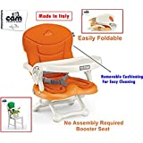 CAM SMARTY BABY Booster Seat C30(ARANCIO) -With Removable Cushion