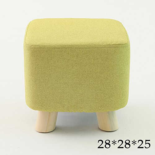 Stool Dana Carrie Hocker Hocker stilvoll kreative kleine Bänke Home Hocker Massivholz runder Hocker Sofa ist, DASS Matcha Umsetzung des Quartetts.