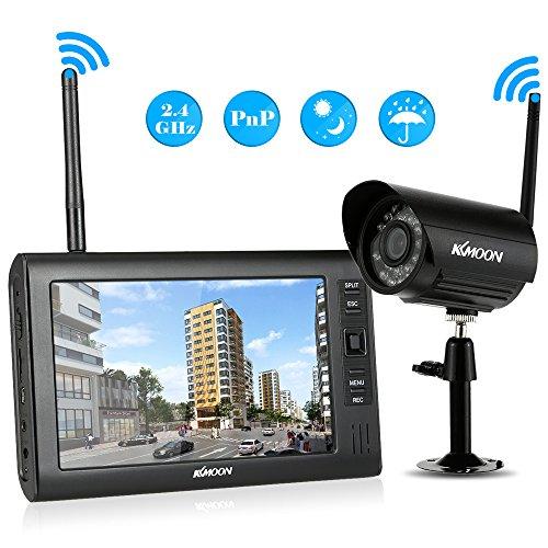 KKmoon Wireless CCTV Camera Kit 51EDJls7VpL