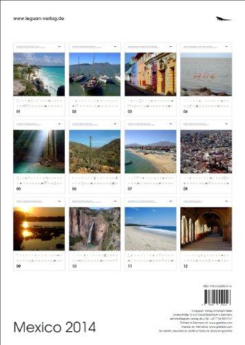 Mexico Calendar 2014 englisch/spanisch