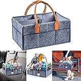 TAOtTAO Large Basket Gift Basket Kinderzimmer-Windel-Einkaufstasche große Tragbare Auto-Reise-Organisator-Babyparty-Geschenk-Tasche