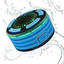 Alitoo Enceinte Bluetooth Étanche Haut Parleur Sans Fil Portable Radios De  Douche Avec Radio FM