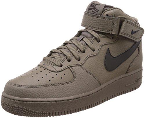 Nike Air Force 1 Mid '07 LE, Scarpe da Basket Uomo, Nero, 41 EU