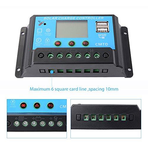 Sunix-20A-Pannello-solare-regolatore-della-carica-Regolatore-di-carica-con-USB-intelligente-display-a-LED-12V-24V
