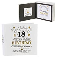 Fancy Classic Collection Signography Birthday Photo Album 4x6 - 18th