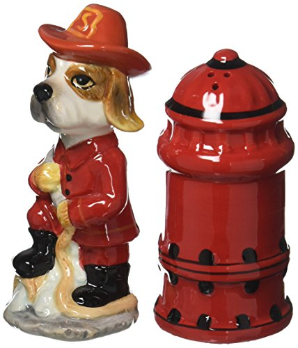 Appletree Fire Fighter Salz und Pfeffer Shaker Set Fire Salt Shaker