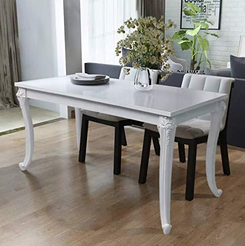 Set tavolo da pranzo - oakome vidaxl tavolo cucina moderno per soggiorno / cucina / studio / ristorante / bar 120 x 70 x 76 cm