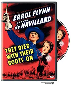 They Died With Their Boots on [DVD] [Region 1] [US Import] [NTSC]