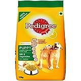 PedigreeMilk & Vegetables, Dry Dog Food for Puppy Dogs, 1.2Kg