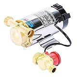 GIOEVO Pompa Booster Pressione Acqua 90 W Pompa Acqua Manuale Pompa Booster Elettronica Automatica Portata Pompa Doccia per Giardino Domestico (90 W)