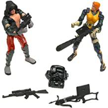 "GI Joe Vs. Cobra Agent Scarlett vs. Zartan 2-Pack 3.75"" Action Figures by Hasbro"
