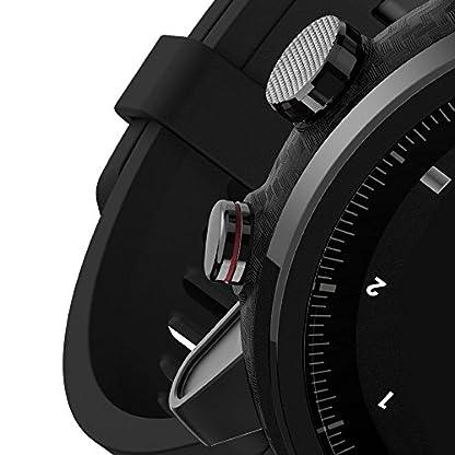 Xiaomi Amazfit Stratos – Smartwatch con GPS y Sensor de frecuencia cardíaca (Resistente al Agua 5ATM) Color Negro