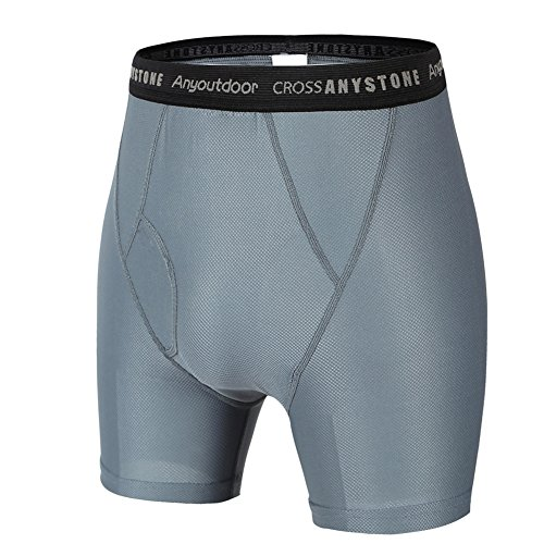 Anyoutdoor Men's Sport Boxer grigio - grigio