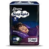 Pannolini Libero Sleep Tight Taglia 9 (22-37 kg) - 56 pezzi (4 pacchi da 14)