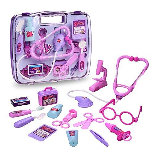 GYOYO Imitation Spiel Spielzeug Doctor Doctor Medical Kit Arzt mit dem Kind Spielzeug-Zubehör Koffer Kind Jungen Mädchen Alter über 3 Jahre