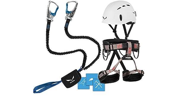 Lacd Klettergurt Harness Start : Klettersteigset salewa premium attac lacd gurt start helm