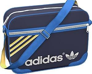 adidas Airliner Shoulder Bag - Legend Ink/Blue Bird/Sunshine/Bliss