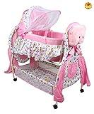 Baybee Hive Swing Baby Cradle (Pink)