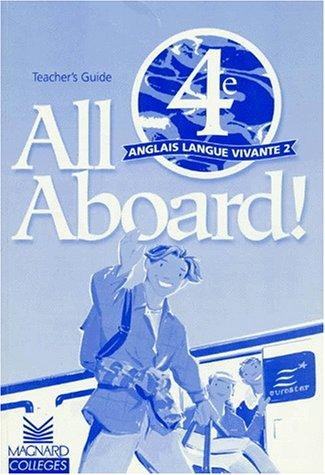 All aboard 4e LV2 : teacher's book