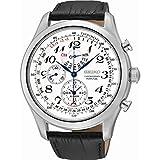 Best Seiko Watches - Seiko Men's Chronograph Quartz Watch with Leather Strap Review