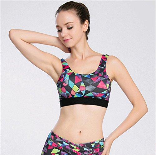 Della Donna Bra / Fitness / Yoga / No Trace / No Anello In Acciaio / Indietro Underwear , a , l A-XL