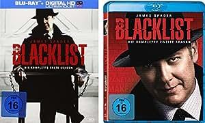 The Blacklist - die komplette Staffel 1+2 im Set - Deutsche Originalware [12 Blu-rays]