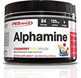 PES Alphamine Strawberry Pina Colada Fatburner Fettverbrennung für Fitness Bodybuilding Sport